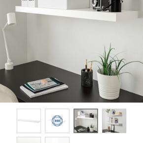 Lack IKEA svævehylder / hylder i målene 110*26.  Uden skrammer eller anden slidtage.