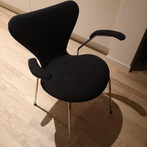 Arne Jacobsen spisebord stole (serie 7) x 4 stks.  Ønsker at sælge dem samlet til mp 12.500 kr.