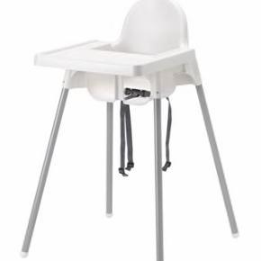 IKEA højstol inkl. hynde og bakke.Brugt hos mormor så fremstår næsten som ny, Hentes i Oksbøl, kan evt fragtes til Als.
