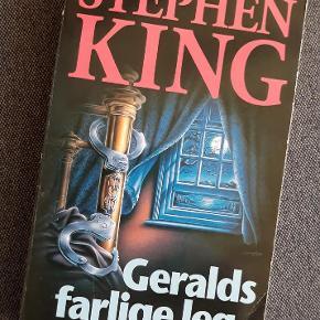 Brand: - Varetype: Stephen King - Geralds farlige leg Størrelse: - Farve: -  Stephen King's bestseller bog: Geralds farlige leg.