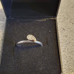 Smuk sølvring str 50-51. Stemplet 925. Virkelig fin 😍👍