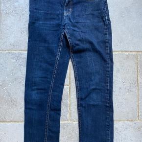 Mørkeblå cowboybukser - brugt få gange.
