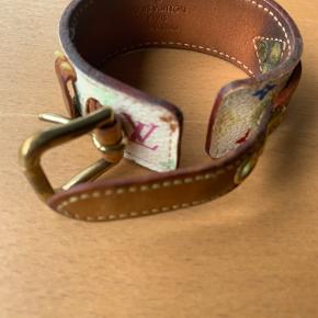 Sælger det her Louis Vuitton Multicolor monogram canvas armbånd   Nypris 4000kr Pris 1000kr Mindstepris 800kr