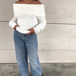 Hvid mega blød strik 💛🌼 brugt en enkel gang