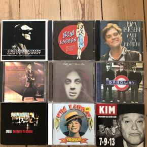 20kr pr cd 2 for 30 3 for 50 4 for 60 5 for 70  Kim larsen  Billy joel Gangway Snooze The man in the shadow