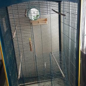 Sælger mit fuglebur som jeg i sin tid gav 1000 kr for. Byd gerne. Det fejler intet men trænger til en grundig vask.