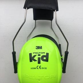 Høreværn til børn. 3M Peltor Kid.