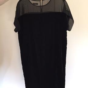 Velour kjole