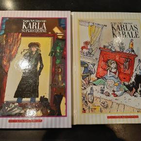 """2 stk pigebøger """"Karlas kabale"""" af Renée Toft Simonsen. Sælges samlet"""