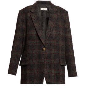 Isabel Marant Étoile Kice Jacket i farven khaki, jakken er en str.40. Den er aldrig brugt og ligge med mærke og silkepapir.   Mål: Bryst: 50 cm Skulder: 58 cm Længde: 72 cm  Respekter venligst at jeg ikke bytter og køber betaler porto samt gebyr ved tspay (både køber og sælgers gebyr).