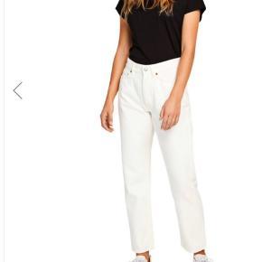 Hvide jeans i str 27