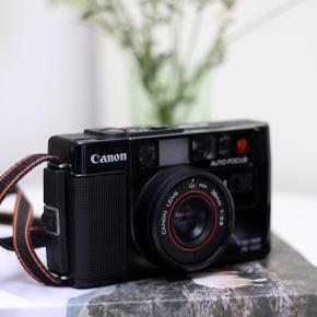 Vintage Canon AF35 m, med blitz  Ny pris: 900kr