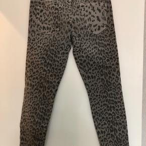 Leopard jeans - model: the stiletto.