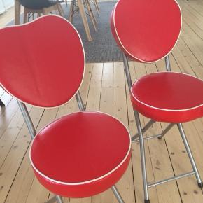 Smukke og sjove klapstole