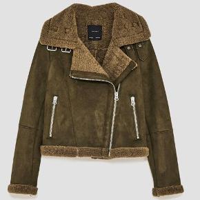 Fed biker jakke fra zara