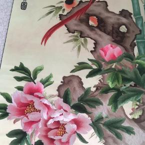 Silk painting, never used. 115cm*50cm.