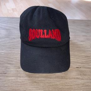 Lækker Soulland Cap. 100% bomuld - sidder skidegodt :)