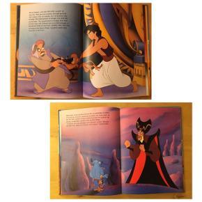 Sælger denne bog. Disney's Jafar vender tilbage.  Handling: Ånden jafar og hans tro følgesvend Jago er undsluppet lampen, der har ligget begavet i ørkenen. Jago søger tilflugt hos Aladdin og får overbevist ham om, at han er på hans side. Men er Jago tro mod Aladdin?  Læs selv den spændende historie.  Flot og velholdt bog med flotte illustrationer, næsten som ny. Kommer fra et ikke ryger hjem. Kan afhentes i 2990 Nivå eller sendes mod betaling