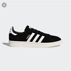 Adidas campus str 38 sort, helt som nye. Byd