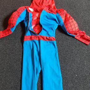 Spiderman kostume str 116