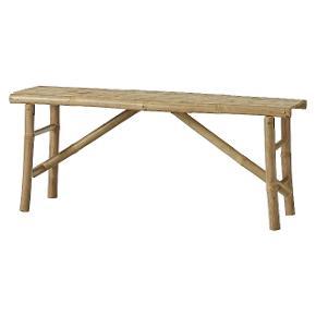Bambus bænk 120x33 cm H: 48 cm