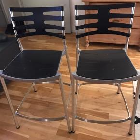 2 stk. Kasper Salto ICE barstole Velholdte - prisen er for 2 stk