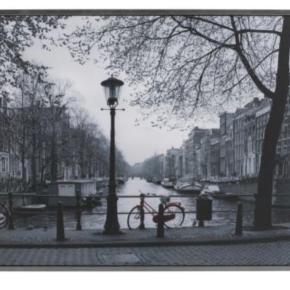 Vilshult billede fra Ikea. Billedet forestille selvfølgelig Amsterdam.  Måler 140x100cm og kan hentes i Glostrup