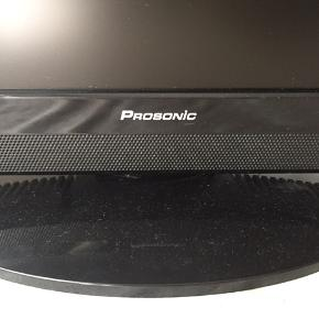 Sort Prosonic fladskærm  model: 19CS6, version 2009 i fin stand.  Ingen fjernbetjening.
