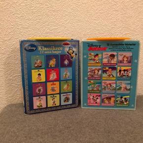 Bøgerne fejler ikke noget  Kasserne er dog lidt brugte men fungere   Disney klassikere 12 små bøger Disney junior 12 små bøger