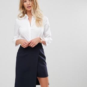 Hvid skjorte i stretch cotton. Stadig med tags