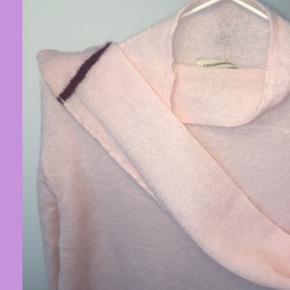 BY MALENE BIRGER  fineste lyserøde striktrøje! Str.36  MP: 299,-
