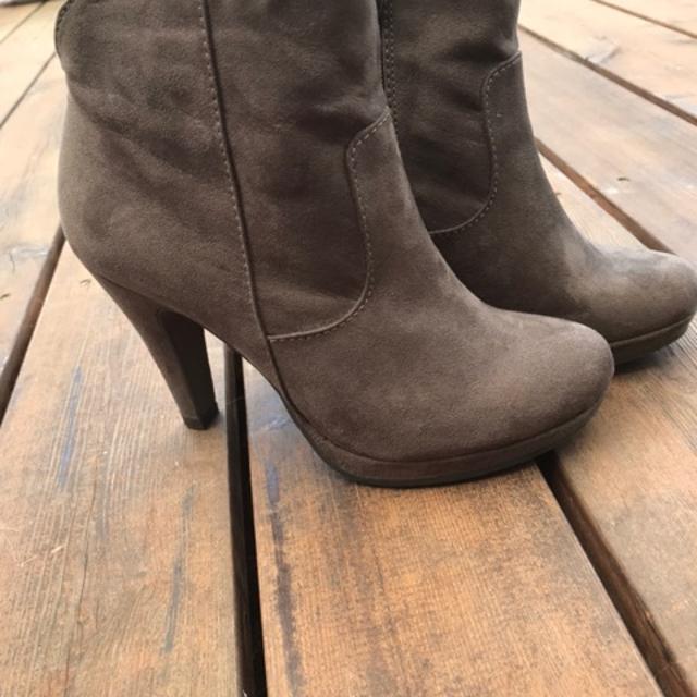 tamaris winter støvler til salg, Flot grå sneakers med skaft
