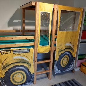 Fin traktor seng. Der mangler enkelte skruer, som nemt kan købes.