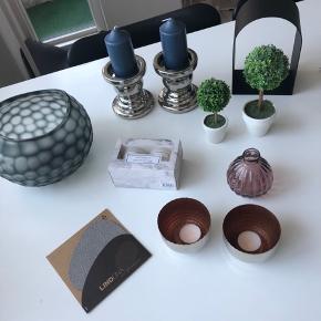 Pyntegenstande sælges fra Menu, LINDDNA, Sinnerup, Ilva, Søstrene Grene. BYD gerne eller hvis du ønsker flere billeder :-)