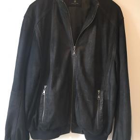 Pierre Cardin skind- & læderjakke