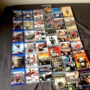 Spil til PS4, PS3 og computer. Se billede for spil, men spørg gerne hvis det er svært at se 😄Sælges samlet eller hver for sig.