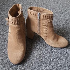 Ruskind støvler