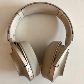 SONY WHH900NN h.ear on 2 (Champagne color). Wireless noice-cancelling headphones purchased in 2019. Digital noise cancelation and Ambient Sound Mode let you control what you hear. Touch sensor control panel for easy operation.  Micro USB charger, Stereo Mini Jack and bag included.