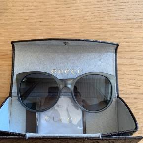 Gucci solbriller  Unisex Brugt 2 gange  Np 3000 Bin 800