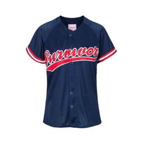 Baseball inspireret T-Shirt fra Edith & Ella  Aldrig brugt!