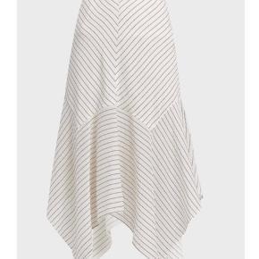 GANNI Wilkie stripes skirt. Stribet bomulds/silke nederdel fra GANNI.