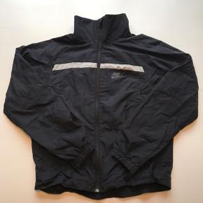 Vintage Nike windbreaker jakke Sort Str M