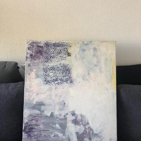 Maleri 81*65 cm Akryl på lærred  Hentes i Valby