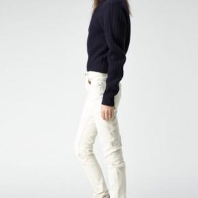 Acne jeans med distressed look