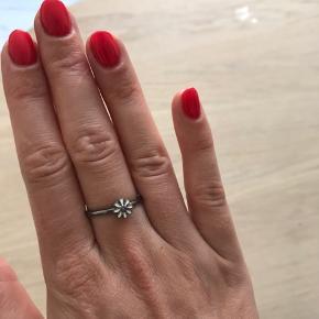 Stilfuld ring fra Christina Jewelry & Watches i sortruthineret sølv med marguerit.  Find flere ringe på min profil. 💍👌🏻