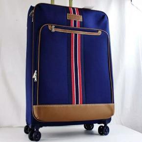"""Ingen brugsspor. Kun brugt en gang- 2 kufferter haves. Kufferterne er købt 18.juli 2019 og har kun været ude på én flyvetur. Fin fin stand. 28"""" dvs den store størrelse. Prisen er pr stk og 2 stk 1500"""
