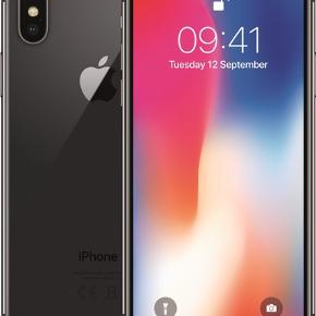 IPhone X, 256Gb, fremstår stort set som ny! Mp. 5.000kr