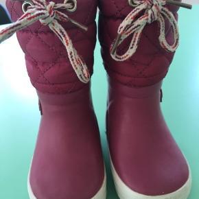 Vinter gummistøvler med foer. I super stand 👌