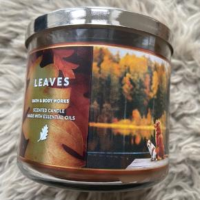 Bath & body works lys  500kr for 3 lys Duft - Leaves