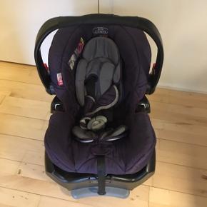 Akta Graco bagvendt auto stol 9-13kg. Alt sælges med til stolen.